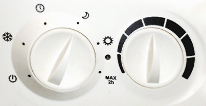 Symbole radiateur électrique
